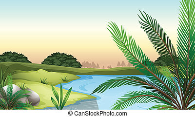Natural resources - Illustration of the natural resources
