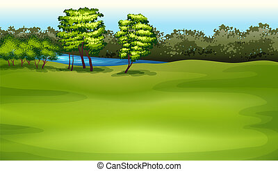 Environment - Illustration showing the environment