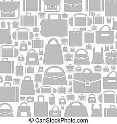 Bag a background - Background made of a bag. A vector...
