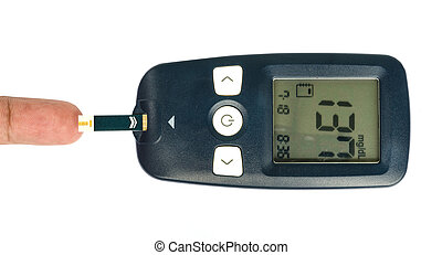 Glucometer. - Glucometer for measure glucose in blood.