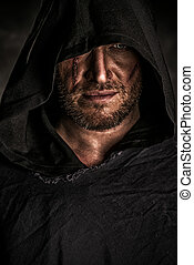 mysterious warrior - Portrait of a courageous warrior...