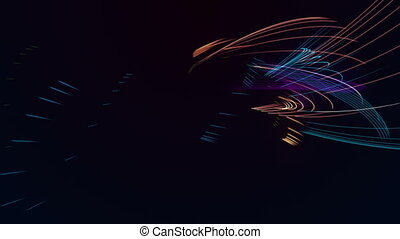 Colored strokes