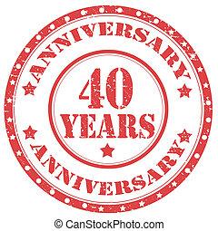 Anniversary-40 Years