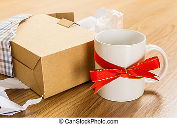 Unwanted gift, cup