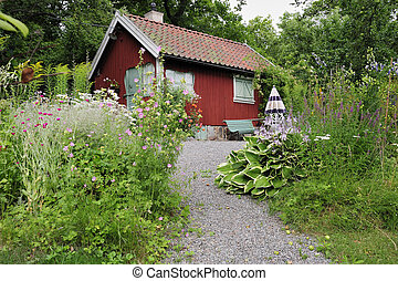 Idyllic summer house - Idyllic Swedish summer house in an...