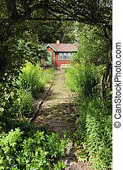 Idyllic summer house - Idyllic Swedish summer house in an...