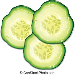 Three Slice Cucumber