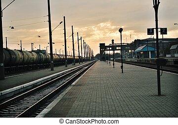 il, piattaforma, Nikolaev, Ukrania