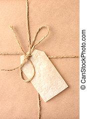 Christmas Present Closeup