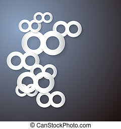 Vector Paper Infinity Symbol Background