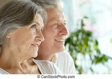 Happy middle-aged couple - Portrait of a happy middle-aged...