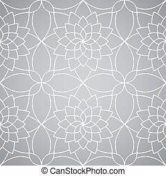 Vector abstract floral wallpaper. Seamless pattern