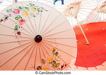 How to umbrella Arts and crafts - How to make the process...