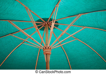 umbrella Arts and crafts - umbrella made ??of paper / cloth...