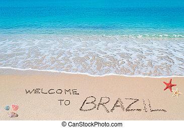 brasilien, herzlich willkommen