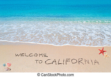 herzlich willkommen, kalifornien