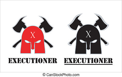 Executioner - suitable for team identity, sport club logo or...