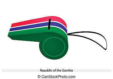 A Whistle of Republic of The Gambia