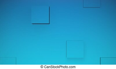Cubes Animation Background
