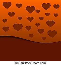Valentine`s Day abstract background.