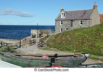 Crovie, Aberdeenshire - Scotland, UK