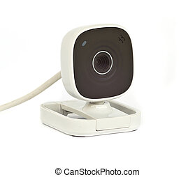 Web Camera - Web Camera Isolated on White Background