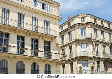 Nimes Gard, Languedoc-Roussillon, France, historic palaces...