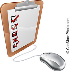 Online internet survey mouse - Online internet survey...