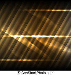 Abstract bronze background - Abstract background with shined...