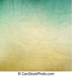 Retro Paper Texture, With Gradient Mesh, Vector Illustration...