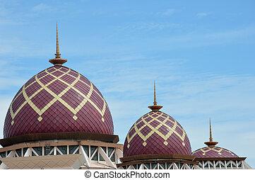 Mosque Baitul Izzah Tarakan, Indonesia - Mosque Baitul Izzah...