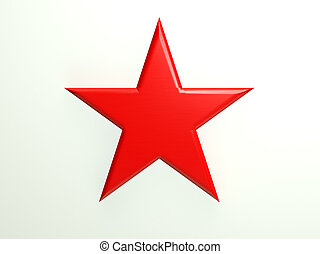 red textured star icon