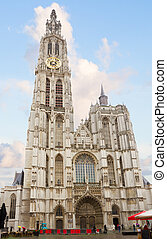 Cathedral of Our Lady in Antwerpen, Belgium...