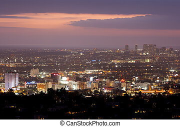 Los Angeles Skyline - The view from Griffith Observatory...