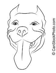 Pitbull Terrier Muzzle