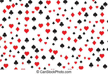 playing card background pattern - suitable for decorations
