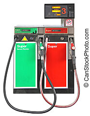 bensin, pump