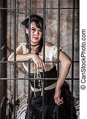 Portrait of Female Prisoner