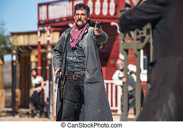 shérif, Duels, bandit, ville