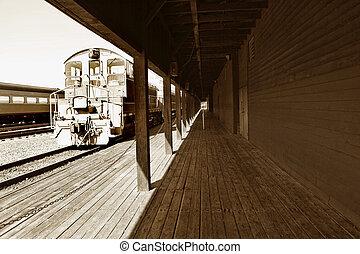 Vintage railway station