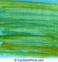 green and blue grunge painted scratched background