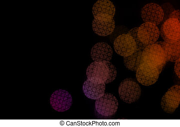 circles crosshatch pattern - Colorful circles with...