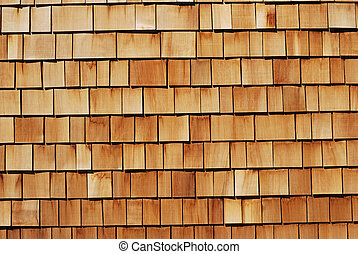 Textured Background - Wood tiled background showing close-up...