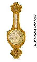 Barometer - Antique banjo barometer