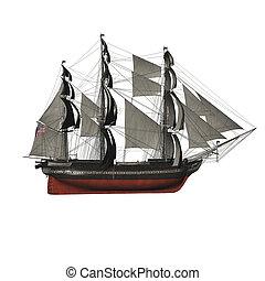 Navegación, vasija