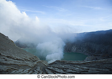 Volcano Ijen, Java, Indonesia