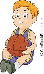 Sad Basketball Boy