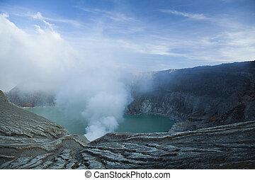 Volcano Ijen, Java, Indonesia