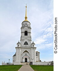 Dormition Cathedral, Russia - Dormition Cathedral in...