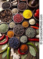 cocina, ingrediente, especia